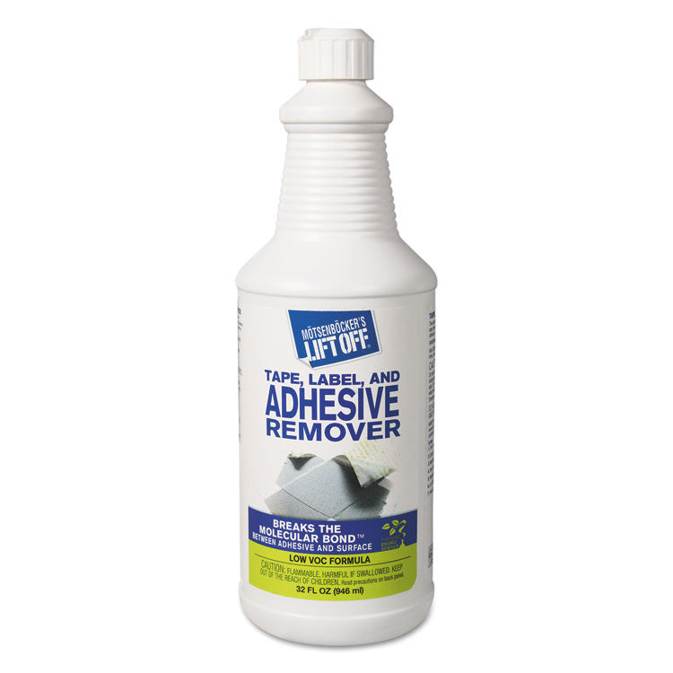 2 Adhesive/grease/oil Stain Remover, 32oz, Pour Bottle, 6/carton