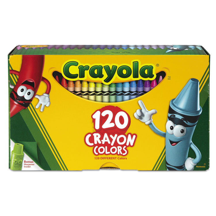 Classic Color Crayons, Tuck Box, 120 Colors