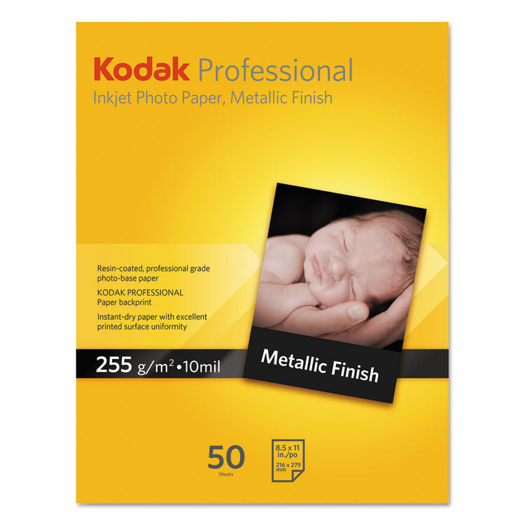 Professional Inkjet Photo Paper, Metallic, 10.9 Mil, 13 X 19, 20 Sheets/pk