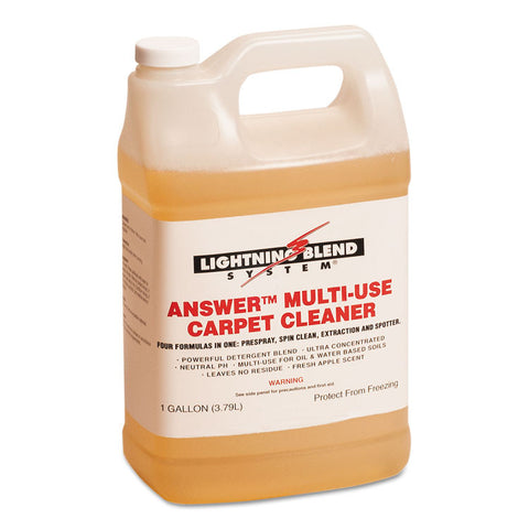 Answer Multi-Use Carpet Cleaner, 1gal Bottle