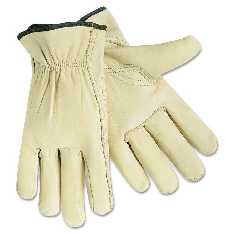 Full Leather Cow Grain Gloves, X-Large, 1 Pair