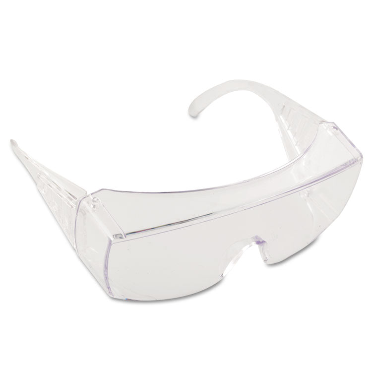 Yukon Safety Glasses, Wraparound, Clear Lens