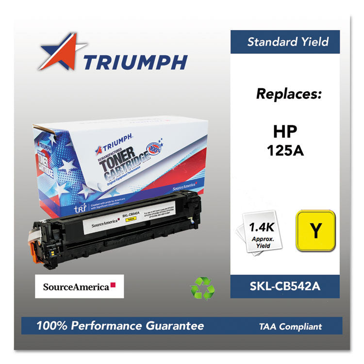 751000nsh0977 Remanufactured Cb542a (125a) Toner, Yellow
