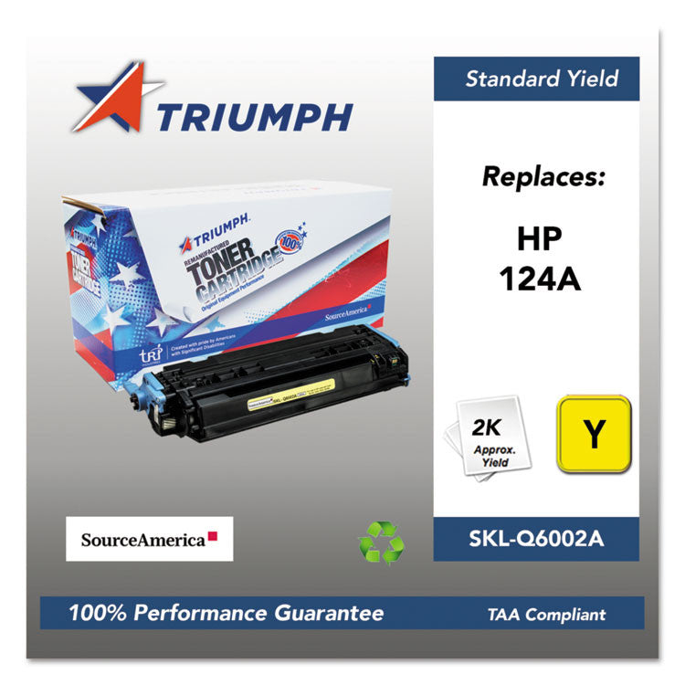751000nsh0293 Remanufactured Q6002a (124a) Toner, Yellow