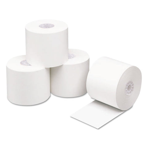 "Direct Thermal Printing Thermal Paper Rolls, 2 1/4"" X 400 Ft., White, 24/carton"
