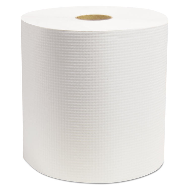 "Cascades Elite Hardwound Roll Towels, White, 7 7/8"" X 800', 6/carton"