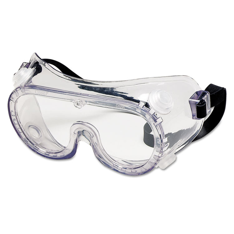 Chemical Safety Goggles, Clear Lens