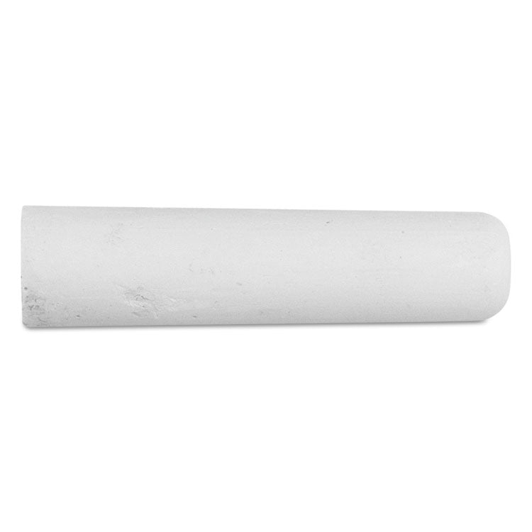 "Railroad Crayon Chalk, 4"" X 1"", White, 72/box"
