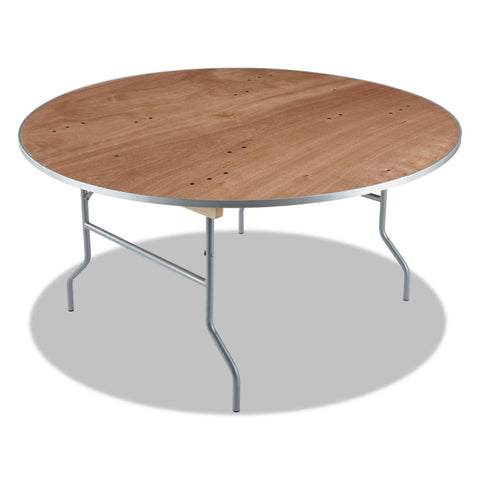 Banquet Folding Table, Round, 60 Diameter