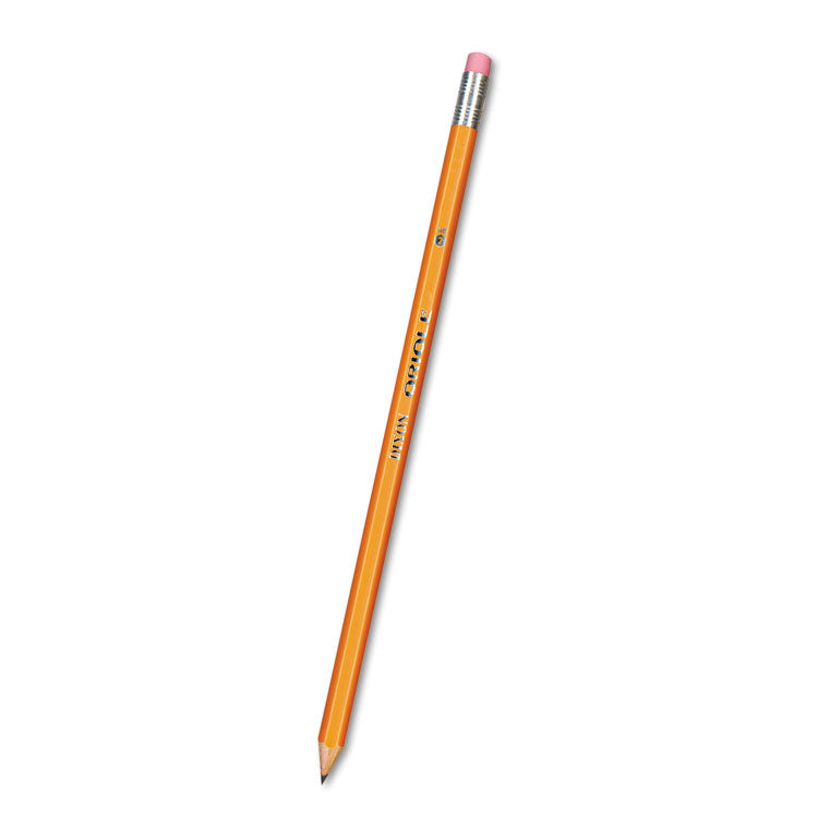 Oriole Woodcase Pencil, Hb #2, Yellow Barrel, 72/pack