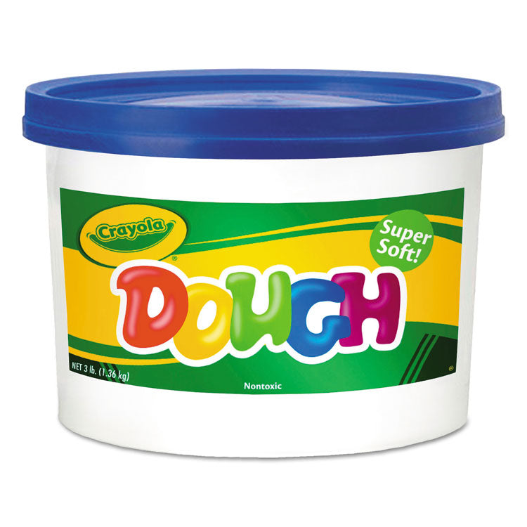 Modeling Dough Bucket, 3 Lbs., Blue