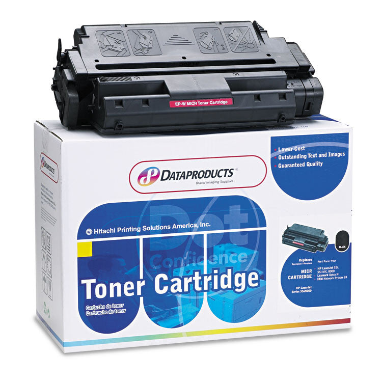 Remanufactured C3909a Micr Toner, 15000 Page-Yield, Black