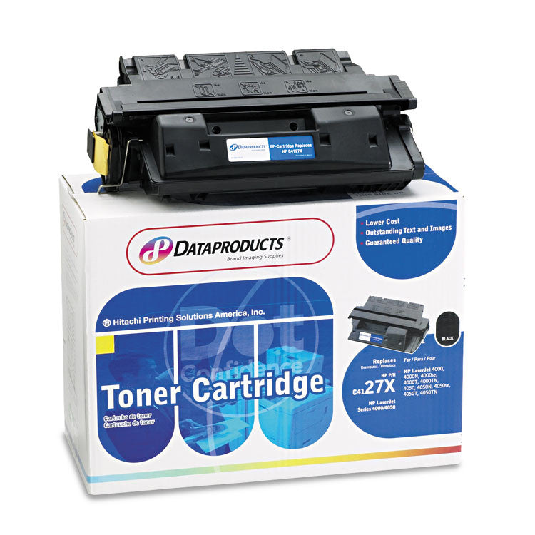 Remanufactured C4127x (27x) Toner, 10000 Page-Yield, Black