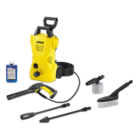 1,600 Psi 1.25 Gpm Compact Electric Pressure Washer With Car Care Kit