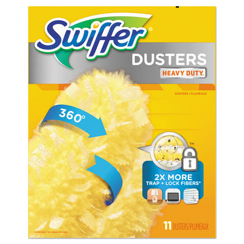 "360 Dusters Refill, Dust Lock Fiber, 2"" X 6"", Yellow, 33/carton"