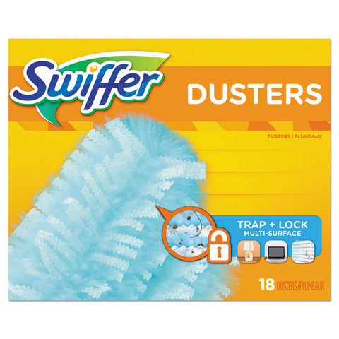 "360 Dusters Refill, Dust Lock Fiber, 2"" X 6"", Light Blue, 72/carton"