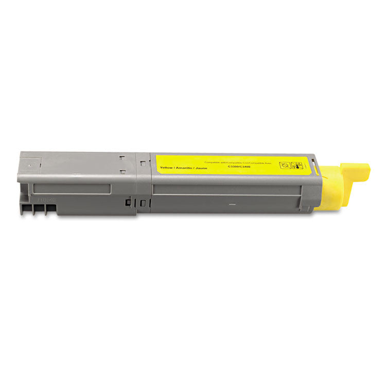 Dpc3400y Compatible High-Yield Toner, 2500 Page-Yield, Yellow