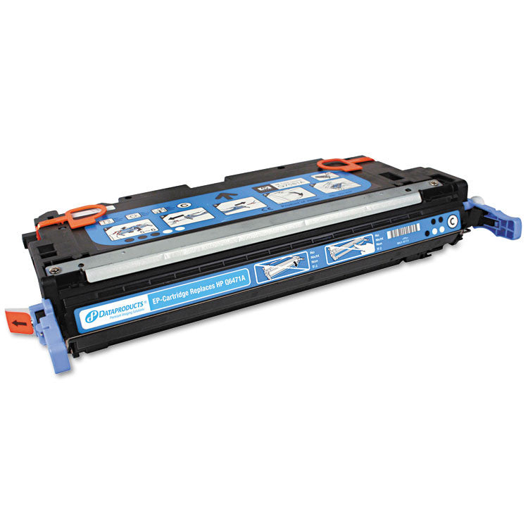 Remanufactured Q6471a (502a) Toner, 4000 Page-Yield, Cyan