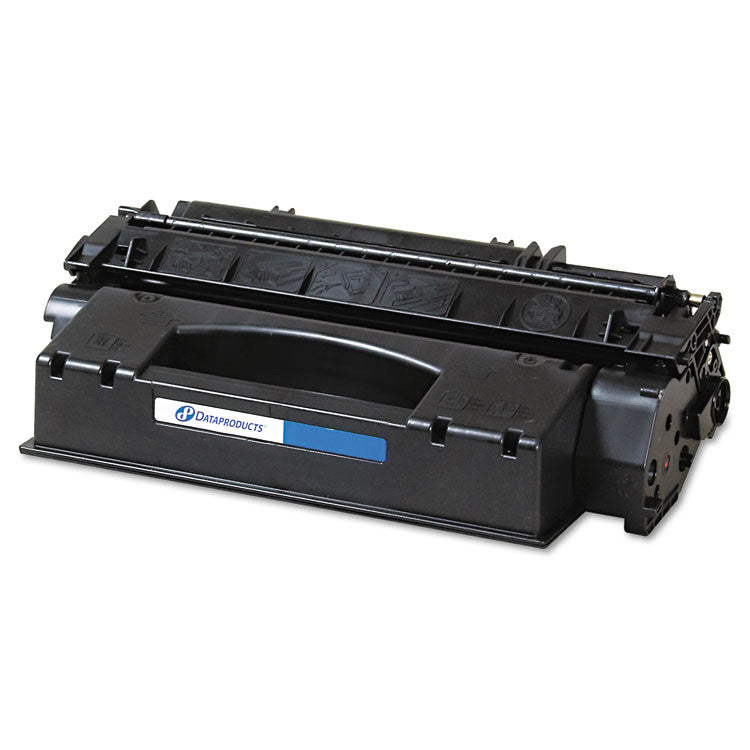 Remanufactured Q7553x (53x) High-Yield Toner, 7000 Page-Yield, Black