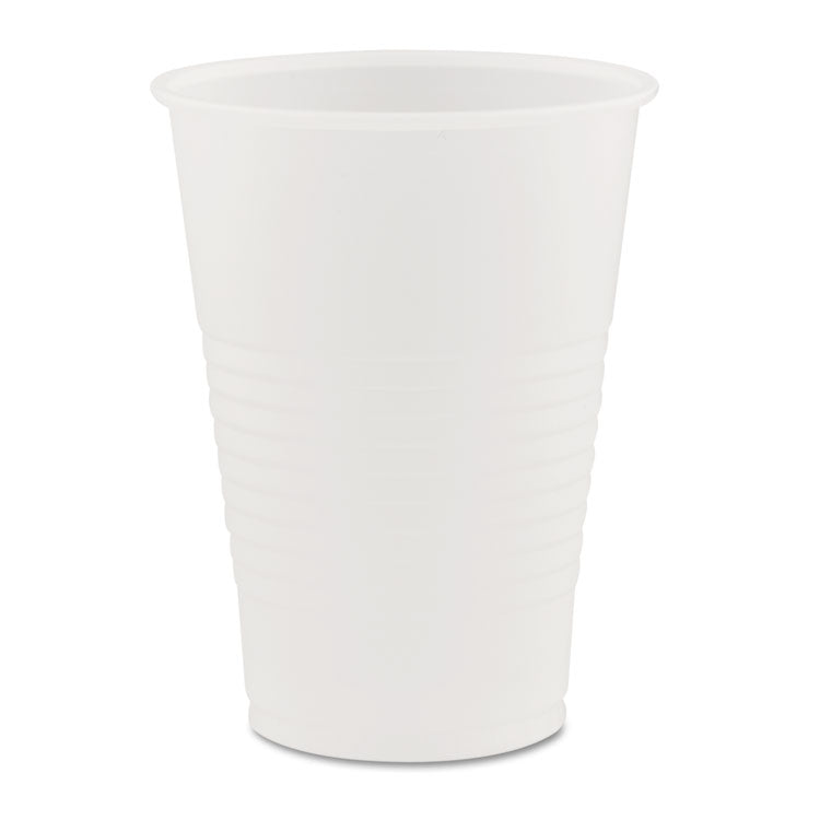 Conex Galaxy Polystyrene Plastic Cold Cups, 7 Oz, 100 Sleeve, 25 Sleeves/carton