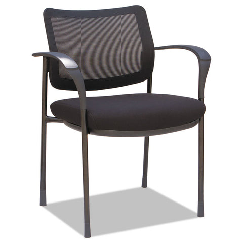 ALERA IV SERIES MESH BACK GUEST CHAIRS, 19 5/8 X 19 1/4 X 19 1/4, BK, 2/CT