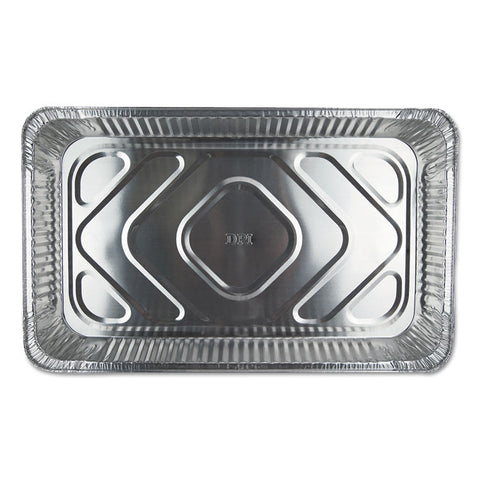 ALUMINUM STEAM TABLE PANS, 12 13/16W X 3 3/8D X 20 3/4H, SILVER, 50/CARTON