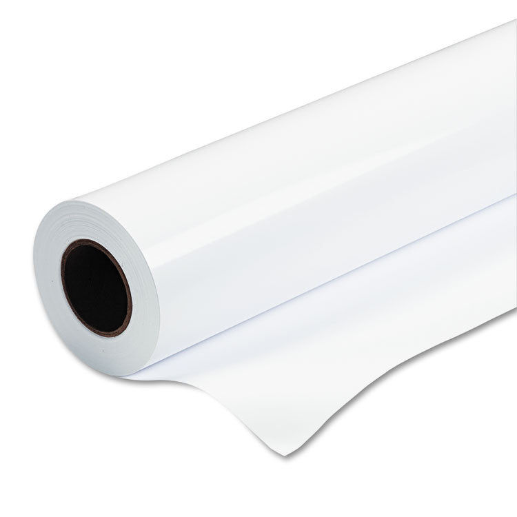 "Rapid-Dry Photographic Paper, Glossy, 6 Mil, 24"" X 100 Ft Roll, White"