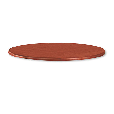 "10700 Series Round Table Top, 42"" Diameter, Henna Cherry"