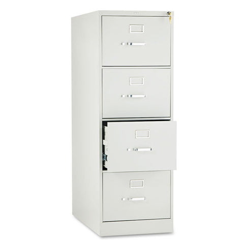 210 Series Four-Drawer, Full-Suspension File, Legal, 28-1/2d, Light Gray