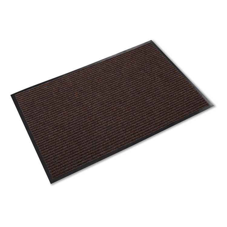 Needle Rib Wipe & Scrape Mat, Polypropylene, 36 X 120, Brown