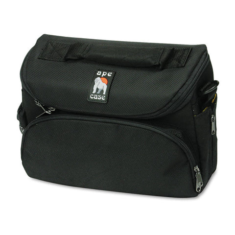 Camcorder/digital Camera Case, Ballistic Nylon, 9 1/2 X 3 3/4 X 8 1/4, Black