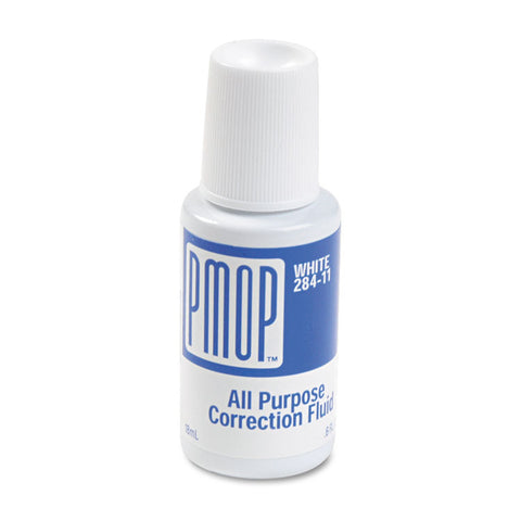 All Purpose Correction Fluid, 18 Ml Bottle, White