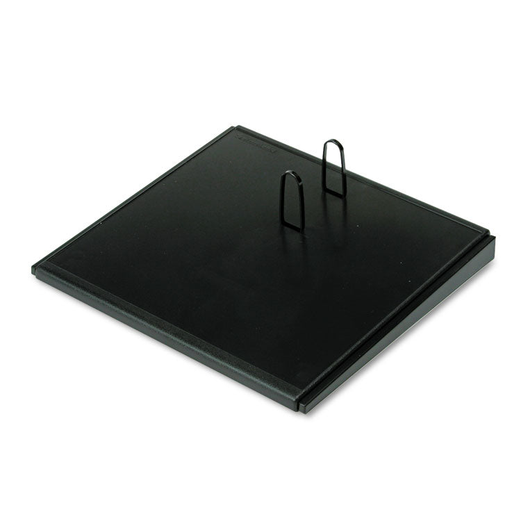 "Desk Calendar Base, Black, 4 1/2"" X 8"""