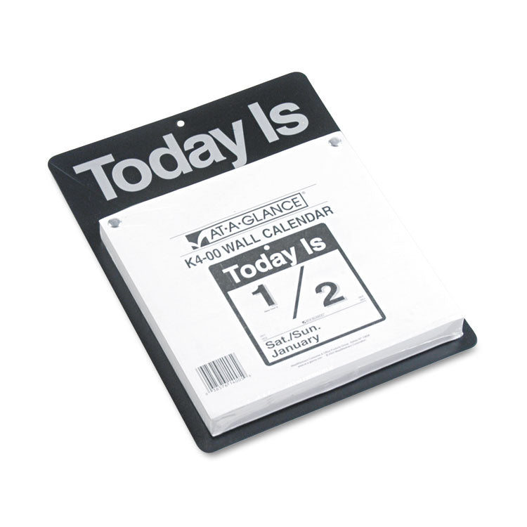 TODAY IS WALL CALENDAR, 9 3/8 X 12, WHITE, 2019