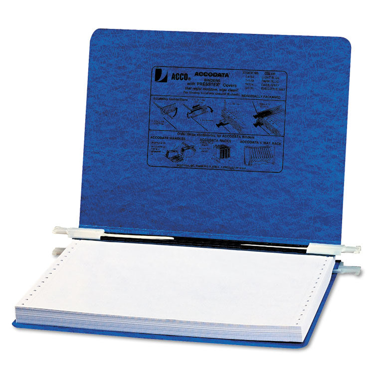 "Presstex Covers W/storage Hooks, 6"" Cap, 12 X 8 1/2, Dark Blue"