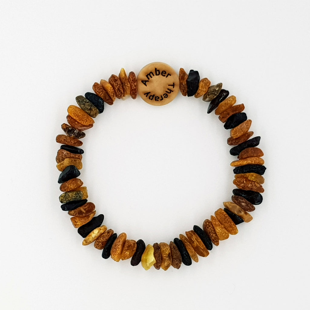 Small Cat Multi Amber Collar