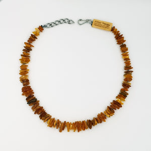 Large Dog Toffee Amber Collar