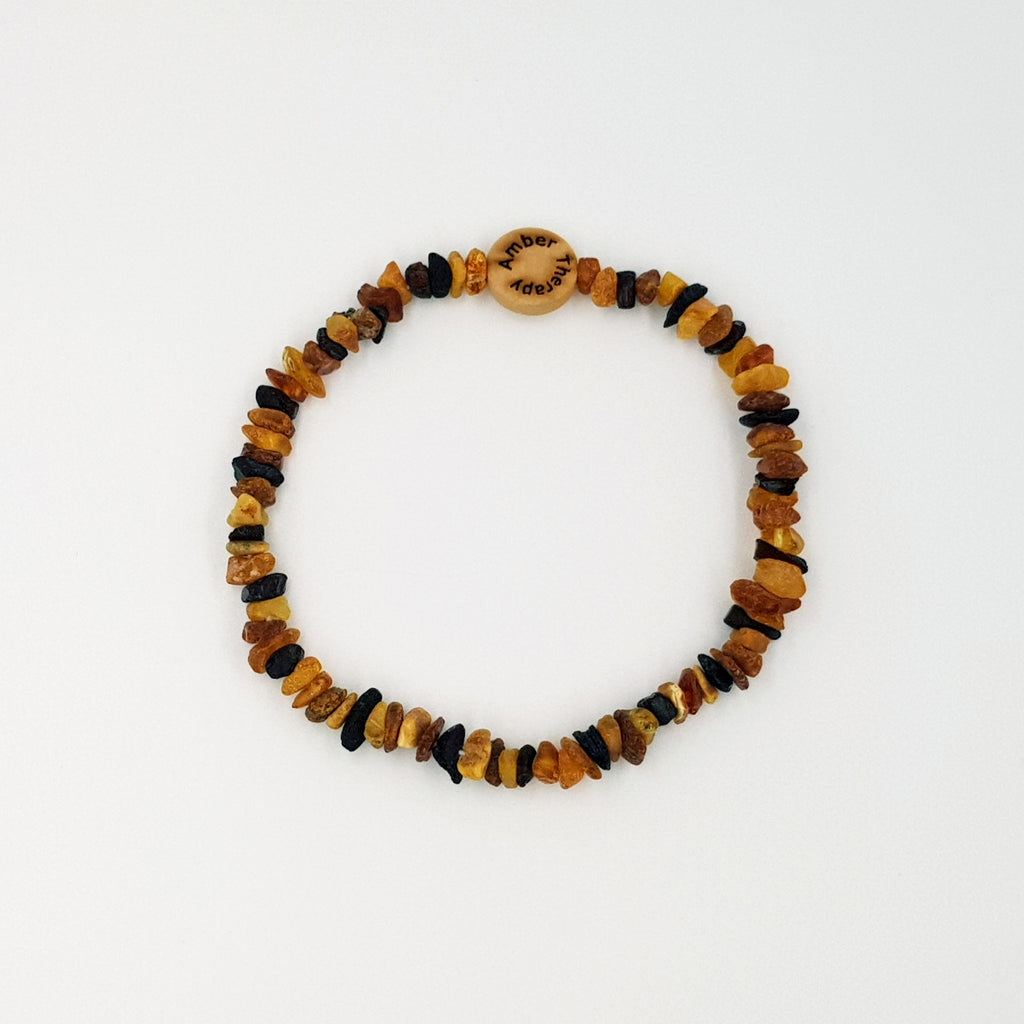 Large Cat Multi Amber Collar
