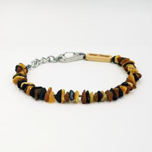 Large Dog Multi Amber Collar