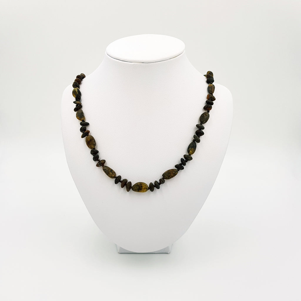 Adult Raw Earth Amber Necklace