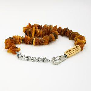 Extra Large Dog Toffee Amber Collar