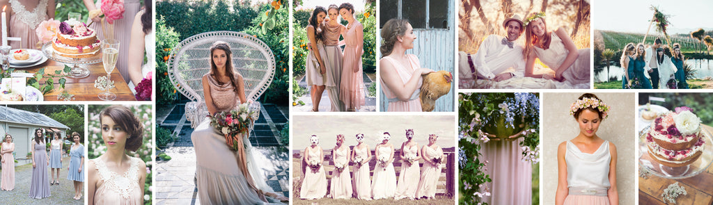 Bohemian luxe bridesmaid skirts, tops and dresses you'll wear again
