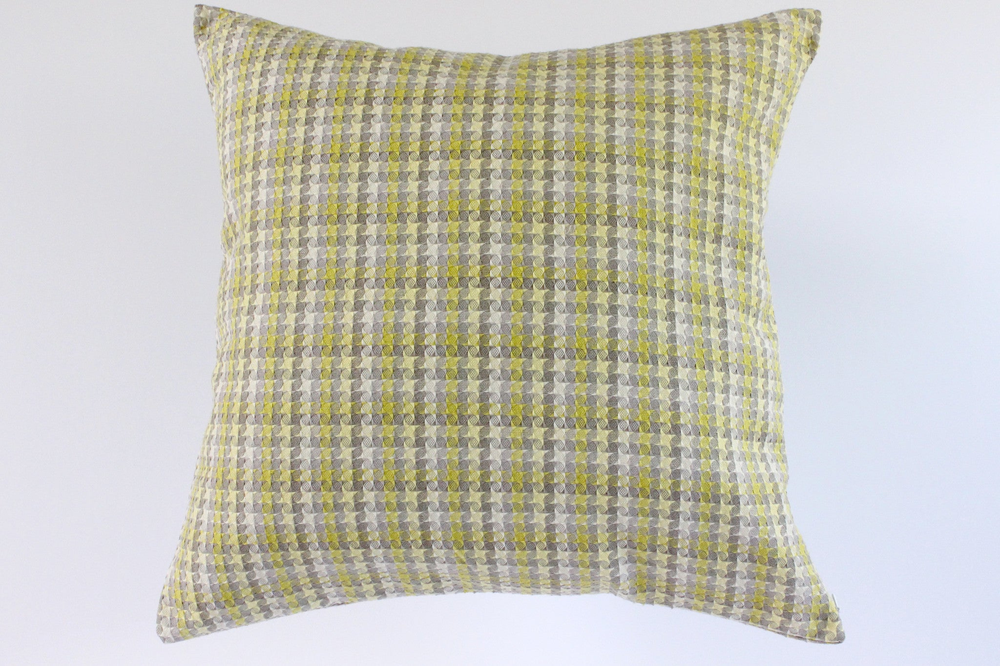 Checkered Textured Pillow