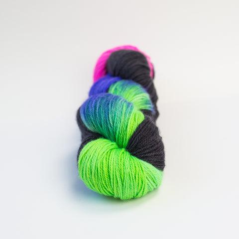Aurora Borealis Fingering Superwash Merino