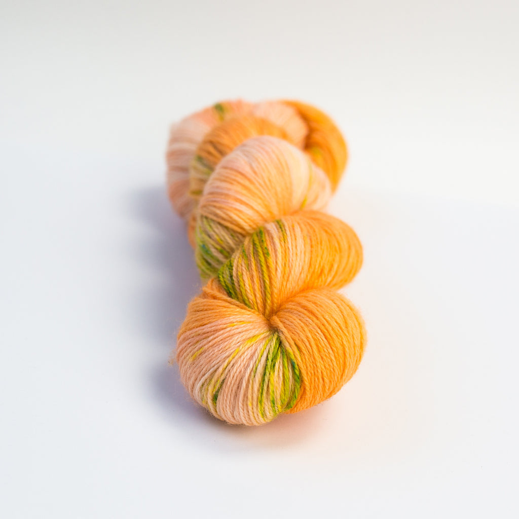 Oh My Clementine Superwash Merino Fingering