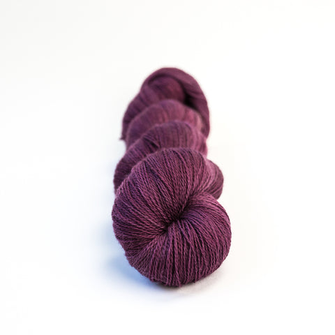 Blackberry Superwash Merino Lace