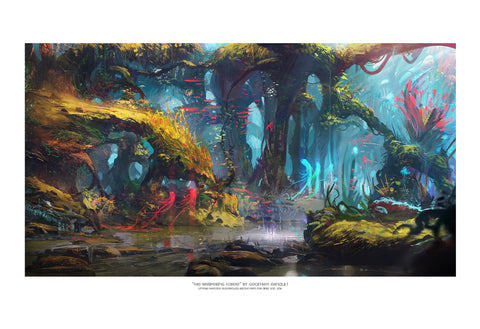 "Giclee Print - 13x19"" The Whispering Forest"