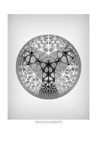 "Giclee Print - 13x19"" Sphere of Influence"