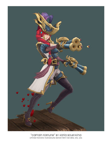 Giclee Print - Captain Fortune