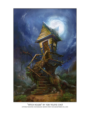 "Giclee Print - 8.5x11"" Witch House"